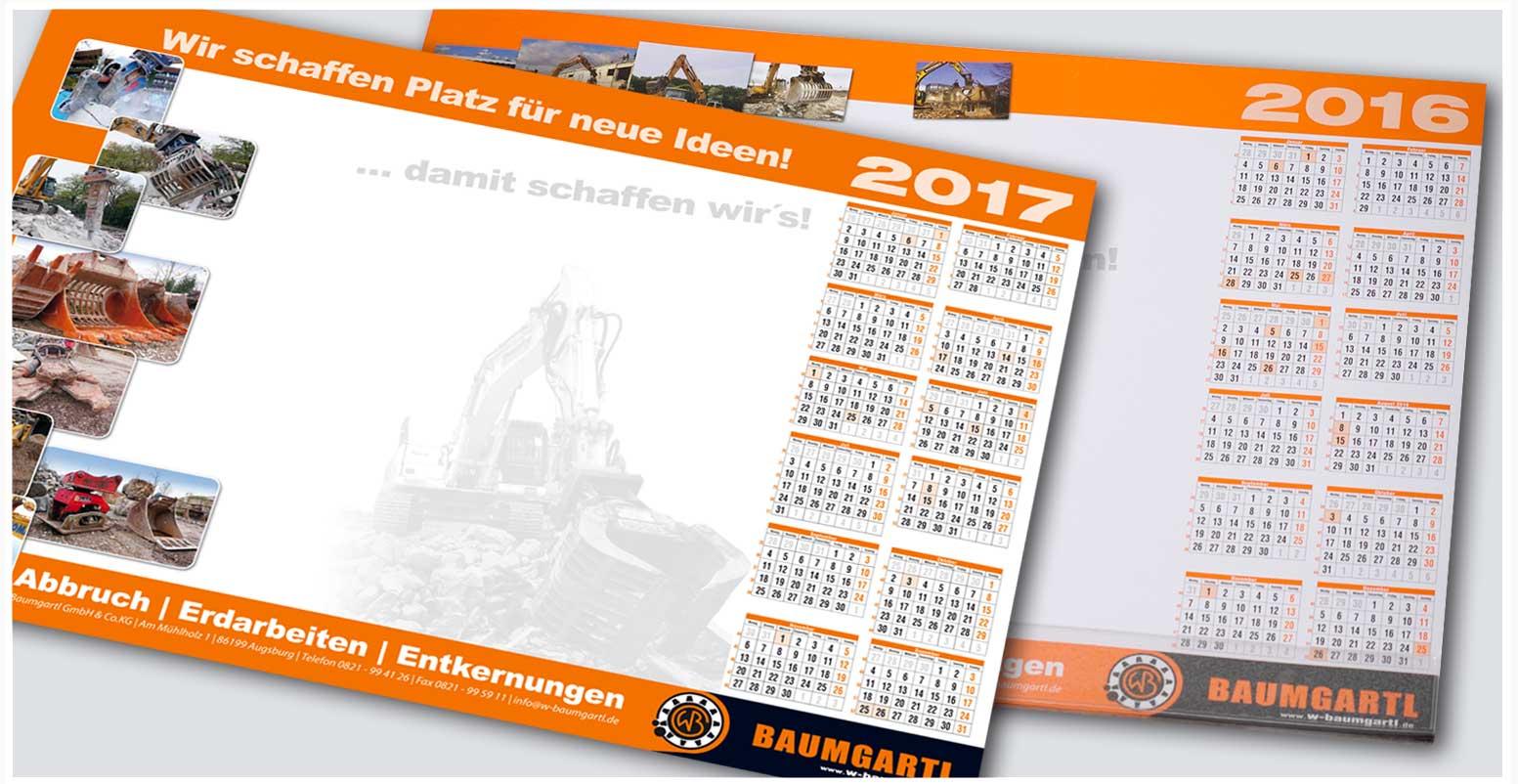 BAUMGARTL| Projektabwicklung verschiedener Designleistungen